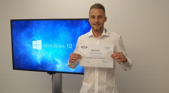 Windows IT-Professional Zertifizierungen erhalten!